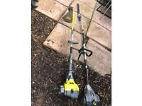 Petrol garden tools working!