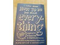 How to do just about everything book