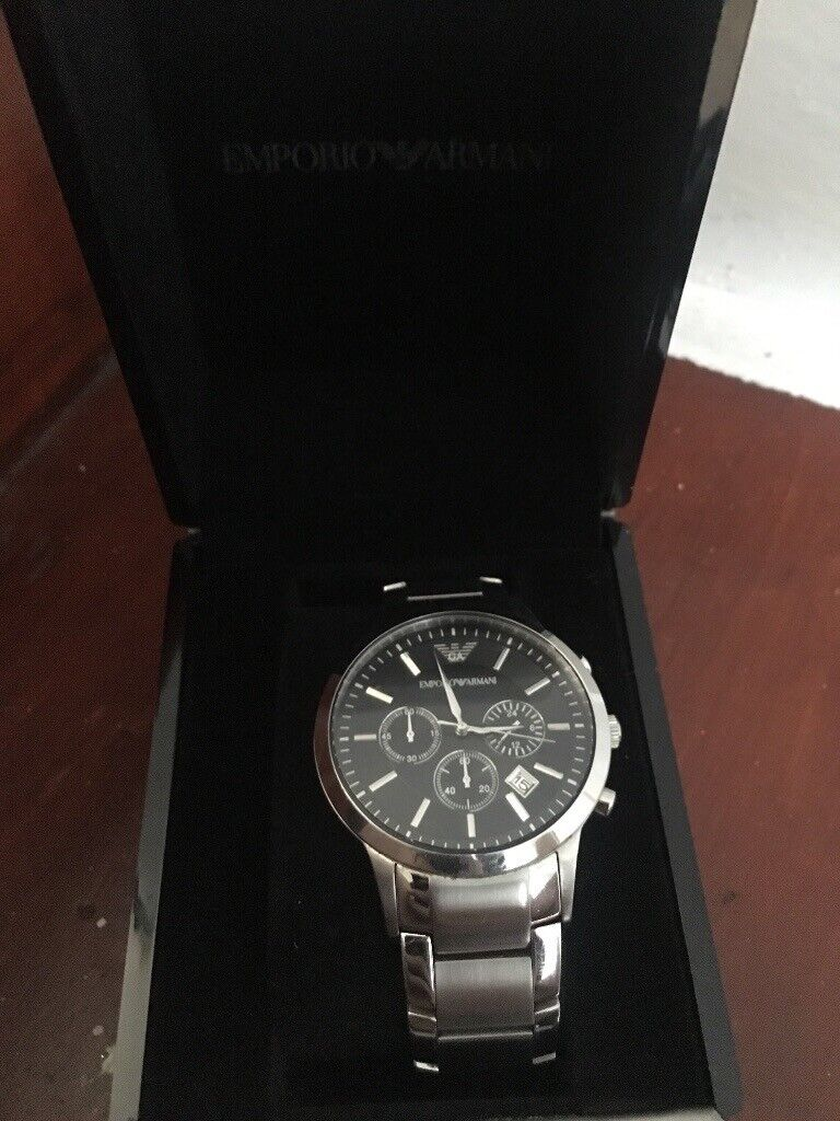 55eaec827935 Men s emporio Armani watch. Hull