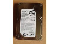 500gb SATA hard drive
