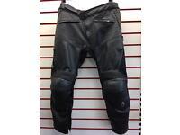 Richa TG-1 Leather Motorcycle Trousers EU58 UK40 Waist