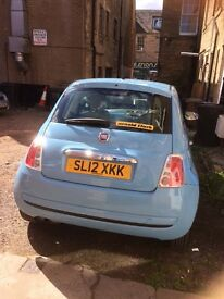 Fiat 500 Pop, MOT until march 2018, low insurance , £30 road tax a year, one owner from new