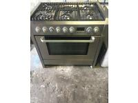 Aeg Electrolux range gas cooker and electric oven 90cm