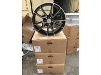 "4 19"" alloy wheels alloys rims tyre tyres vw Volkswagen seat Skoda audi Mercedes 112"