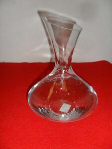 carafe a d canter verre transparent bec verseur ebay. Black Bedroom Furniture Sets. Home Design Ideas
