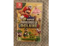 Nintendo Switch: Super Mario Bros U DELUXE