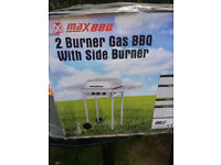 Gas BBQ with side burner Brand new unopened