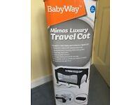 Mimas Luxury Travel Cot