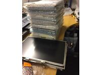 Joblot of 105 used laptop screens