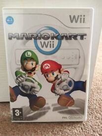 Nintendo Wii wheels & Mario Kart