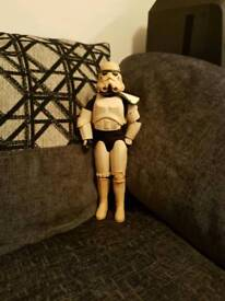 Star wars stormtrooper figure