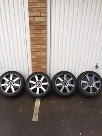 """Brand new tyres and alloy wheels 15"""""""