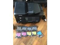 Epson WF-3520 inkjet printer and ink cartridges AVAILABLE TO COLLECT NOW