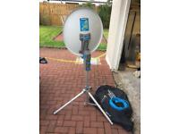 Maxview Precision Portable Satellite System