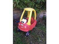 Little tikes classic cozy coupe ride on