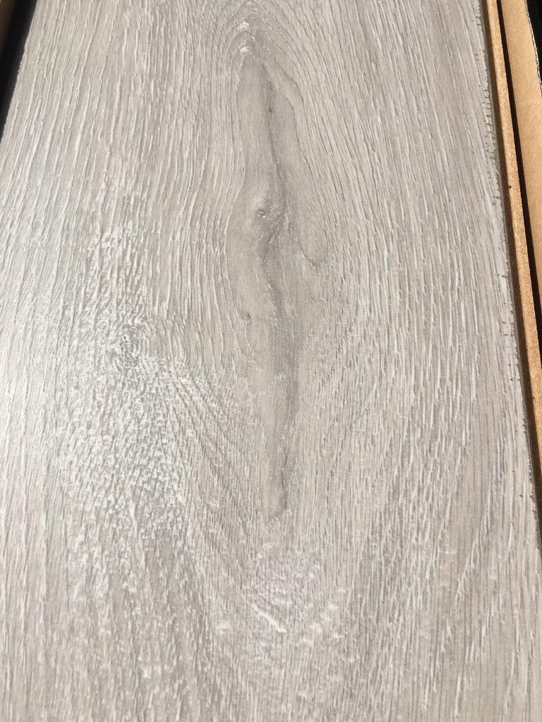 Portland 12MM Grey Laminate Flooring 1.30M2 Coverage Per Pack