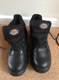 Dickies men's work boots size 8