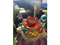 Fisher price jungle jumperoo