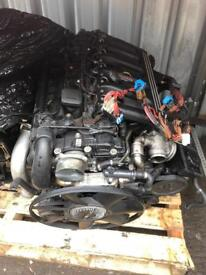 Bmw 3.0d engine Complete 2003 e39