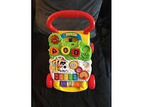 V-tech first steps baby walker - in good condition