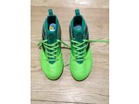 Adidas Ace kids football boots. Uk size 2.5.