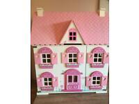 ELC Wooden Dolls House VGC