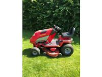 Countax ride-on mower / lawn tractor with 2 decks