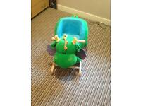 Dragon baby rocker