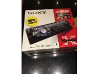 Sony CDX-GT670U Car Stereo - CD / MP3 Player/radio with USB & AUX ports