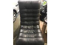 Unique Retro Leather Armchair/ Chair