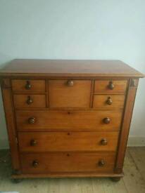 Apothecary antique chest
