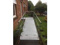 Wheelchair access ramp