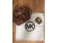 Michael Kors Handbag & Matching Purse