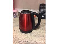 Cookworks red kettle