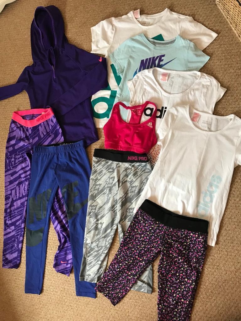 5a9f97786 Nike and Adidas girls bundle 8-10 yrs | in Hasland, Derbyshire | Gumtree