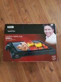 Wahl healthy table top grill james martin brand new