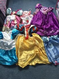 Dressing up clothes aged 5-7 years.