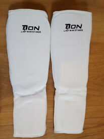 Karate & martial arts shin/foot and hand pads (guards). Junior.