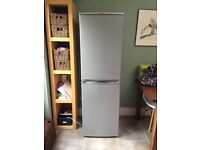 Large silver fridge freezer from Hotpoint