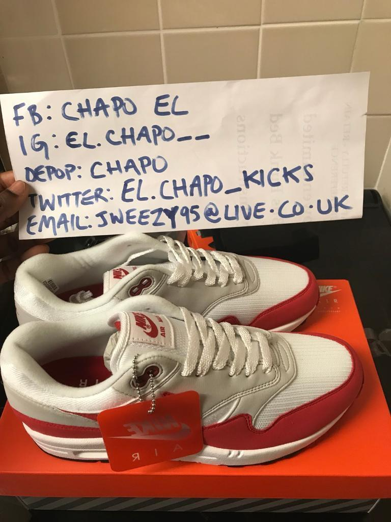 timeless design 06f91 9a81f ... wholesale nike air max 1 anniversary og red for sale c774a 9ae63