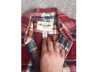 Boys/small women's Abercrombie and fitch check shirt