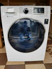 Samsung WD90J6410AW Ecobubble Free Standing 9Kg Washer Dryer White Rrp £649