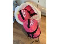 4 Girls Pink Andes Sleeping bags