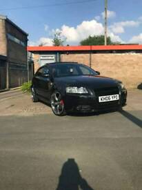 Audi a3 quattro s-line (black edition) FULLY LOADED. FULL SERVICE HISTORY.