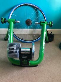 Kinetic smart turbo trainer plus extras