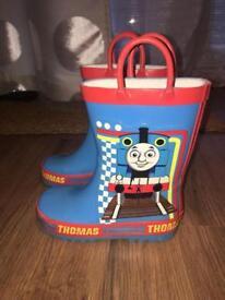 Thomas the tank size 8 wellies