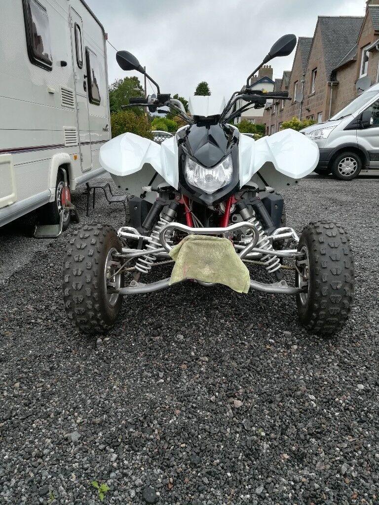 Apache Rlx 450 Road Legal Quad