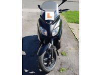 Yamaha Xmax 125cc 2013 plate. Very low mileage.