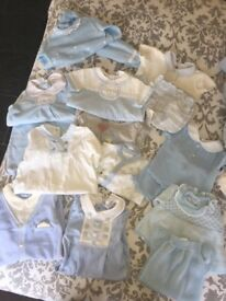 Baby boy 1 mounth old clothes bundle