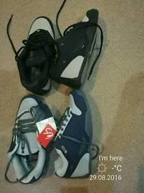 Custom es skate trainers size uk 9